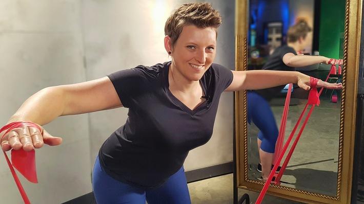 Fitness und Yoga in Kaffee oder Tee / Neue Reihe ab Mittwoch, 15. Juni 2016, SWR Fernsehen