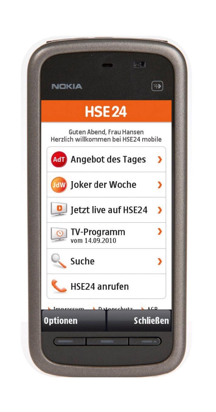 hse24 wird mobil homeshopping spezialist launcht mit hse24 mobile weitere verkaufsplattform. Black Bedroom Furniture Sets. Home Design Ideas