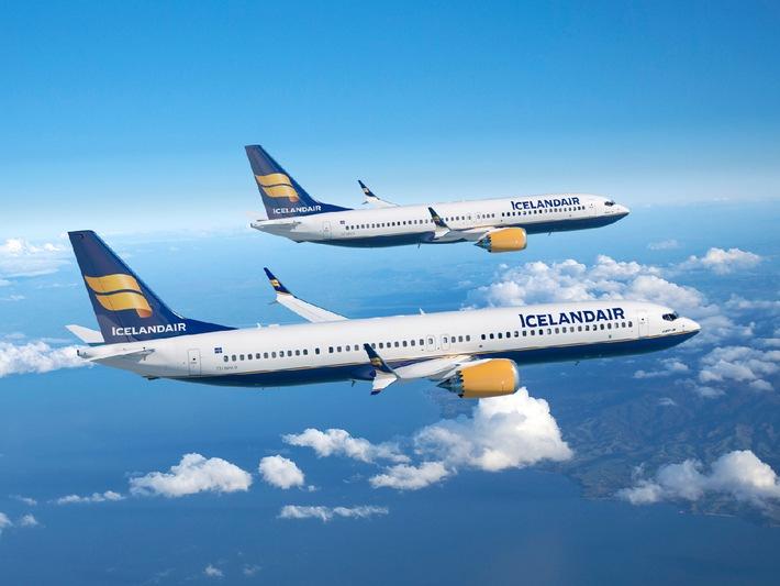 Icelandair unterzeichnet Vertrag über 12 neue Boeing 737 MAX Flugzeuge