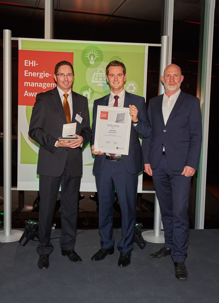 ALDI SÜD erhält den EHI-Energiemanagement Award 2016