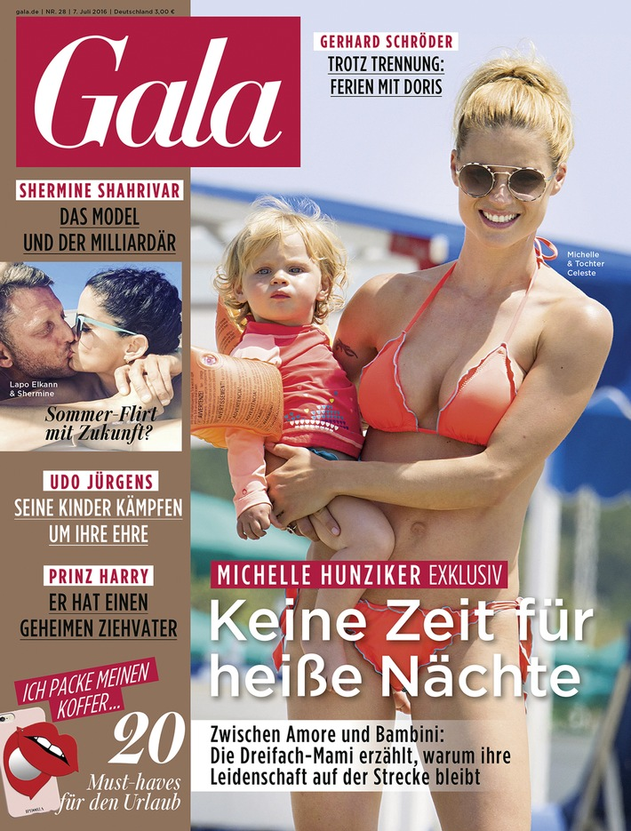"""Michelle Hunziker: """"Mit zwei kleinen Kindern bleibt das Liebesleben manchmal einfach auf der Strecke."""""""