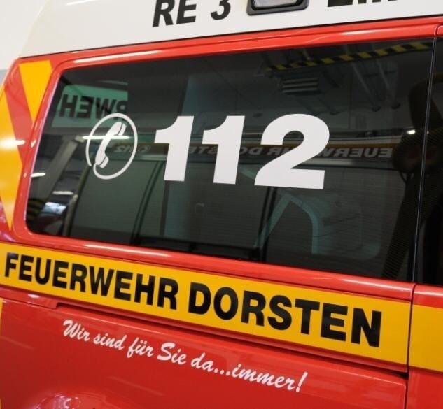 FW-Dorsten: Austritt von CO² machte die Evakuierung eines Gastronomiebetriebes nötig
