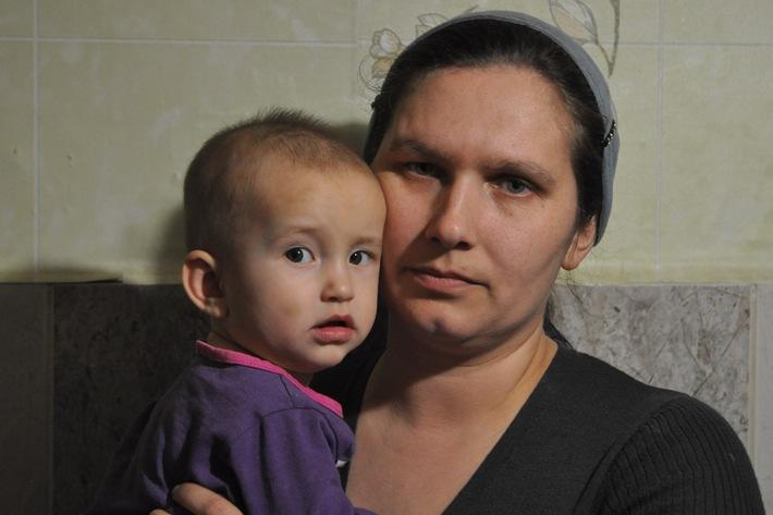 Caritas apporte une aide d'urgence dans l'est de l'Ukraine