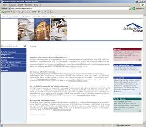 hotelleriesuisse et hotel+tourismus revue: Nouvelle présentation sur le web