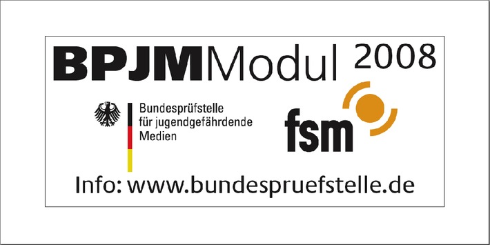 Neues Logo kennzeichnet die Anwendung des BPjM-Moduls in Filterprogrammen und Suchmaschinen