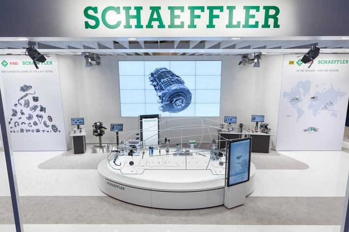 Mobilität für morgen: Schaeffler auf der North American International Auto Show 2016 / Systemkompetenz bis ins kleinste Detail