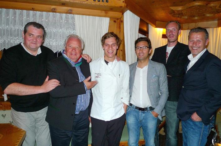 Jakobsweg-Köche zu Gast bei Benjamin Parth