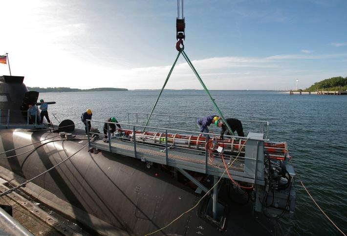 Deutsche Marine: IDAS-Flugkörper erstmals vom U-Boot gestartet