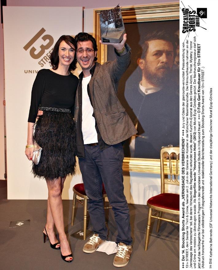 Murat Eyüp-Gönültas gewinnt 14. Shocking Shorts Award von 13TH STREET