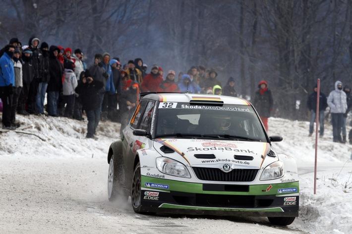 Rallye Monte Carlo, Halbzeit Tag 2: Führung in WRC 2 ausgebaut