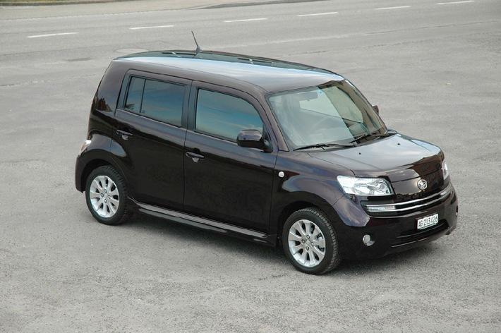 Daihatsu Materia jetzt als 4x4 lieferbar