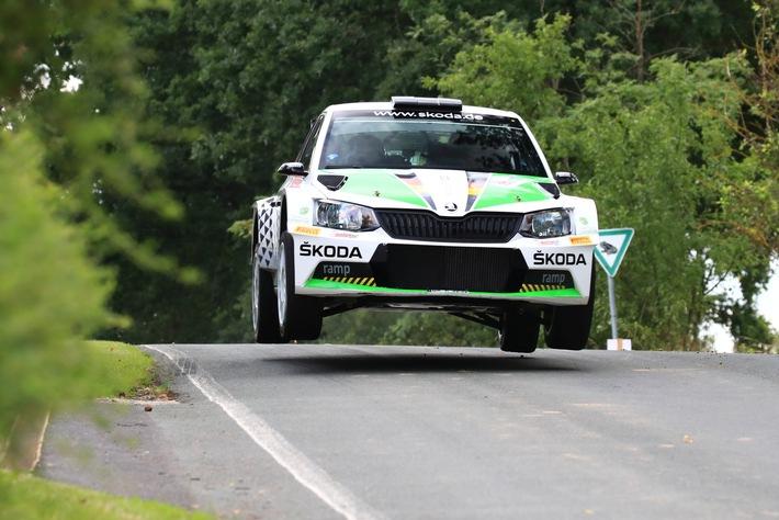 Saisonhöhepunkt für SKODA AUTO Deutschland: Kreim/Christian wollen bei WM-Rallye in der Heimat glänzen