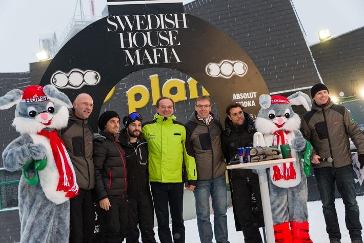 14.000 Fans beim Ski-Opening mit SWEDISH HOUSE MAFIA AUF DER PLANAI - BILD