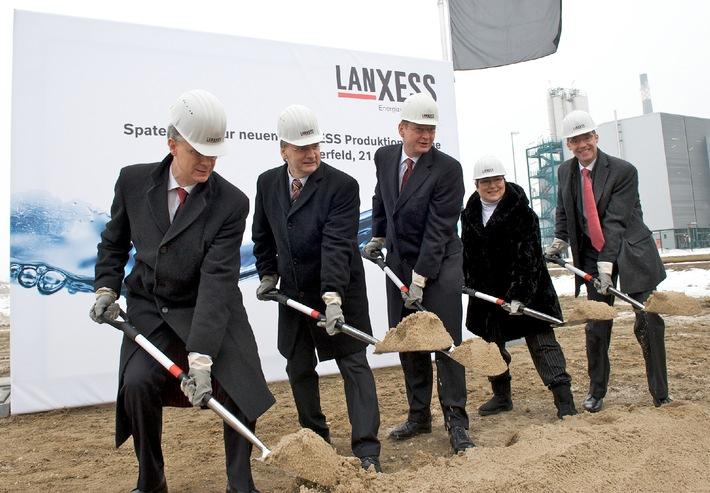 LANXESS baut neues Werk in Deutschland (mit Bild)