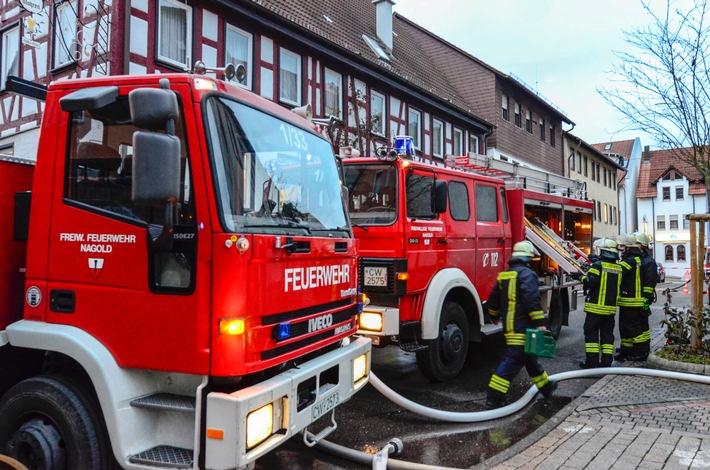FW-CW: Update zu Brand in Werkstatt -Zahlreiche Glutnester gelöscht-