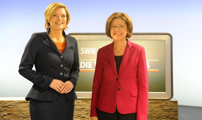 Hilfestellung für die Wahlentscheidung / TV-Duell zwischen Malu Dreyer und Julia Klöckner am 1. März live im SWR Fernsehen bot Schlagabtausch zwischen den Spitzenkandidatinnen von SPD und CDU