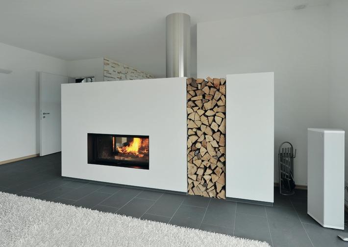 Une cheminée, c'est le confort garanti - mais aussi de belles économies de chauffage