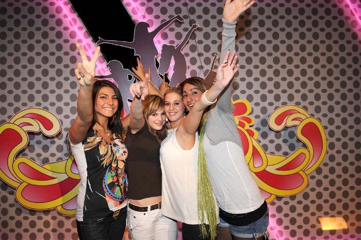 Sensationell! 22,4% MA für POPSTARS - Just 4 Girls / Erfolgreichste Sendung am Donnerstag
