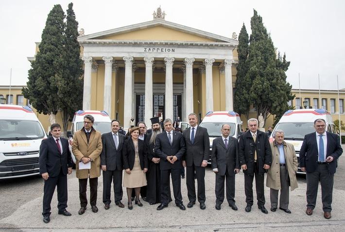 Schnelle Hilfe: ASB bringt fünf Krankenwagen nach Griechenland