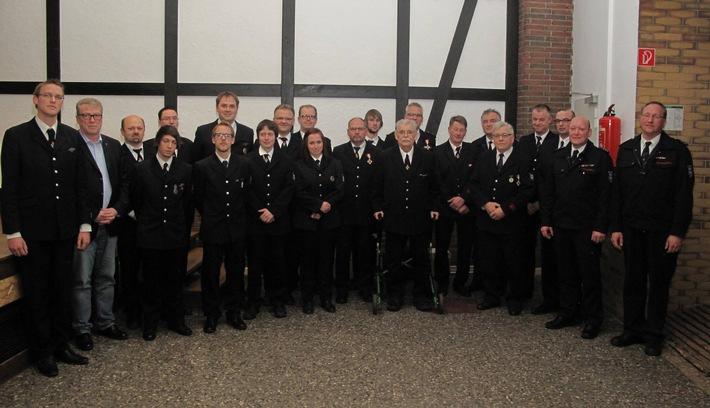 FW-AR: Jahresrückblick beim Basislöschzug 5 der Arnsberger Feuerwehr