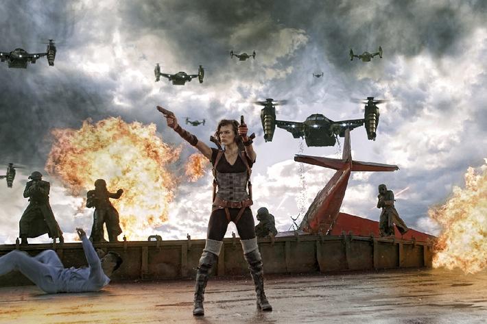 RESIDENT EVIL: RETRIBUTION ab 20. September 2012 im Kino