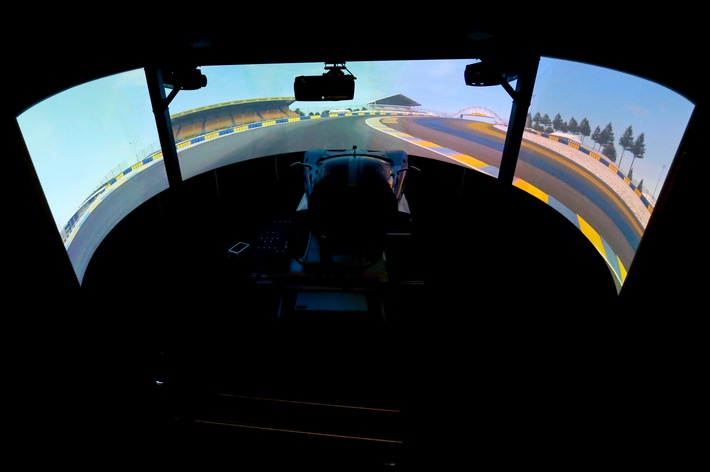 Ford Performance Racing Simulator: Vorbereitung für das 24-Stunden-Rennen von Le Mans