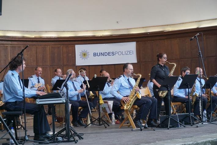BPOLI-KN: Sommerkonzert der Bundespolizei in Konstanz lockt zahlreiche Gäste an