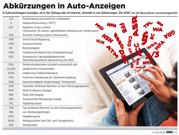 Das braucht's beim Gebrauchten / Der ADAC gibt wichtige Tipps für den Autokauf im Internet, beim Händler und von privat und zeigt die größten Fallen