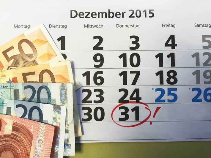 Jetzt Zulagen sichern: Zu viele Riester-Sparer verschenken Geld / Die DVAG erinnert: Bis zum 31. Dezember können staatliche Zulagen für das Beitragsjahr 2013 noch rückwirkend beantragt werden