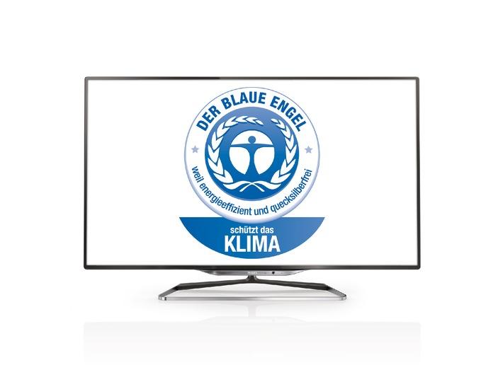 Philips Smart TVs erhalten Umweltzeichen Blauer Engel