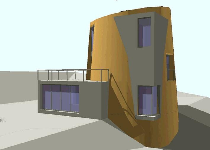 Architekt lanciert bewohnbares Zigerstöckli