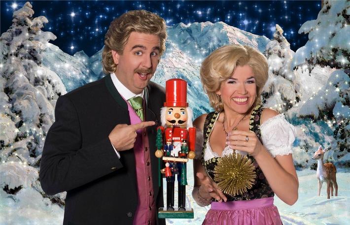 """""""Fröhliche Weihnachten - Die große Weihnachtsshow mit Anke Engelke und Bastian Pastewka"""""""