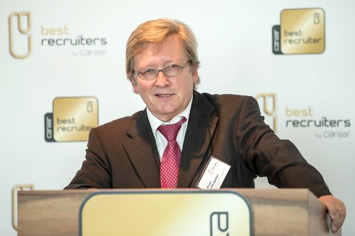 Unternehmen mit dem besten Recruiting der Schweiz ausgezeichnet (BILD)