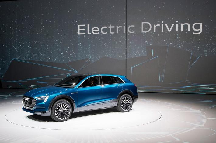 Antriebskompetenz von ultra bis e-tron: Audi auf der IAA 2015