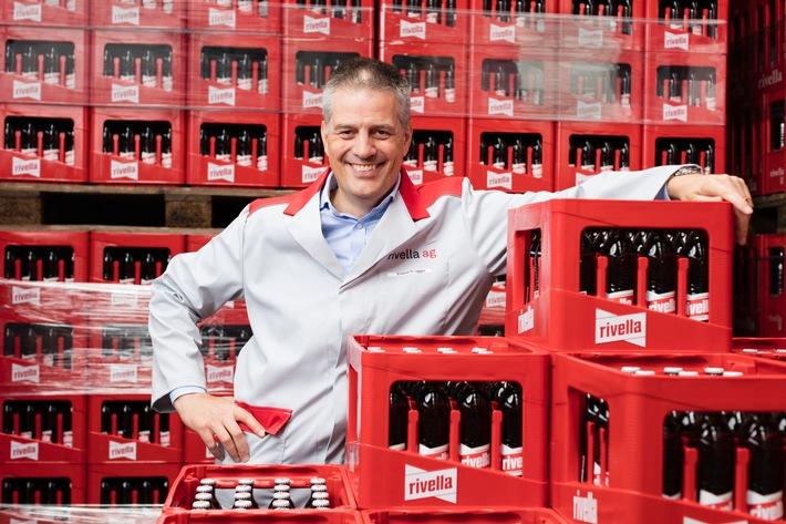 Rivella wächst im Ausland und hält Marktanteil in der Schweiz