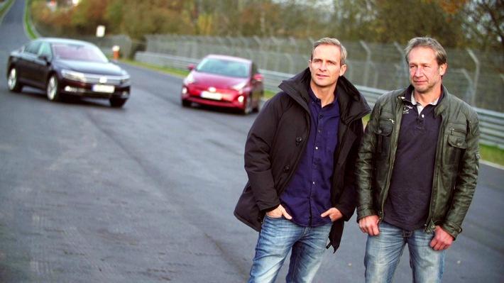 """GRIP - Das Motormagazin: """"Spritspar-Challenge - Diesel gegen Hybrid"""""""