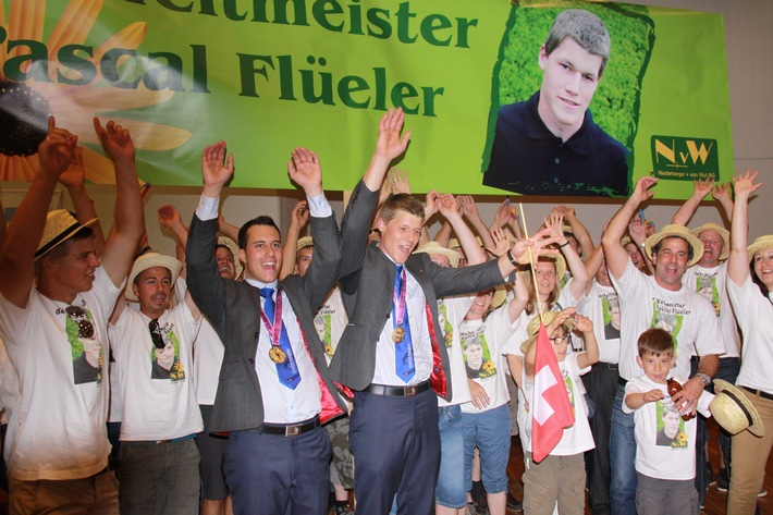 WorldSkills2013 in Leipzig: Schweizer Landschaftsgärtner gewinnen erneut Gold