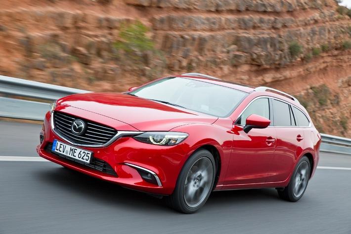 Mazda6 2015: Umfassendes Upgrade für das Aushängeschild
