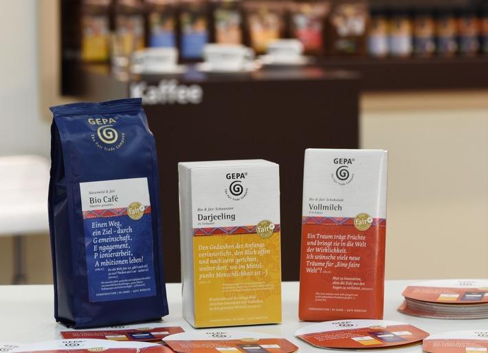 Biofach 2016 / Sonderedition mit Lieblingsprodukten: 40 Jahre - Gute Wünsche / Weitere neue Bio-Produkte aus Fairem Handel