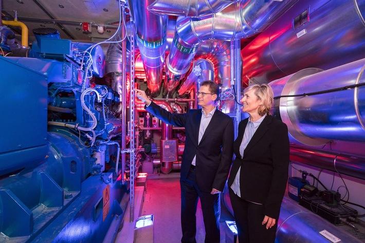 Effizient und nachhaltig: MDR nimmt Blockheizkraftwerk in Leipzig in Betrieb