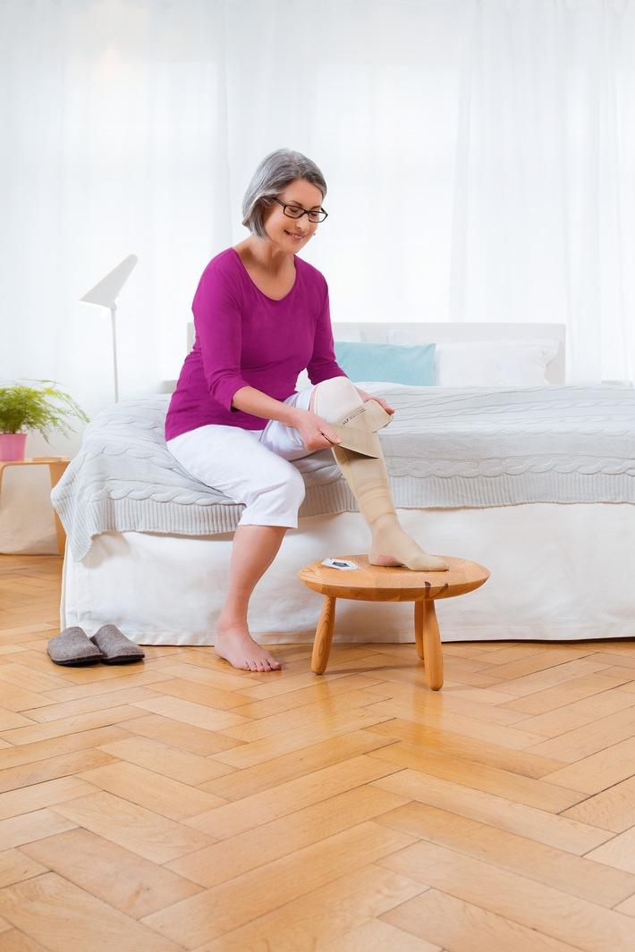 Chronische Wunden - Hilfe bei Ulcus cruris venosum / Neues Therapiekonzept für das offene Bein