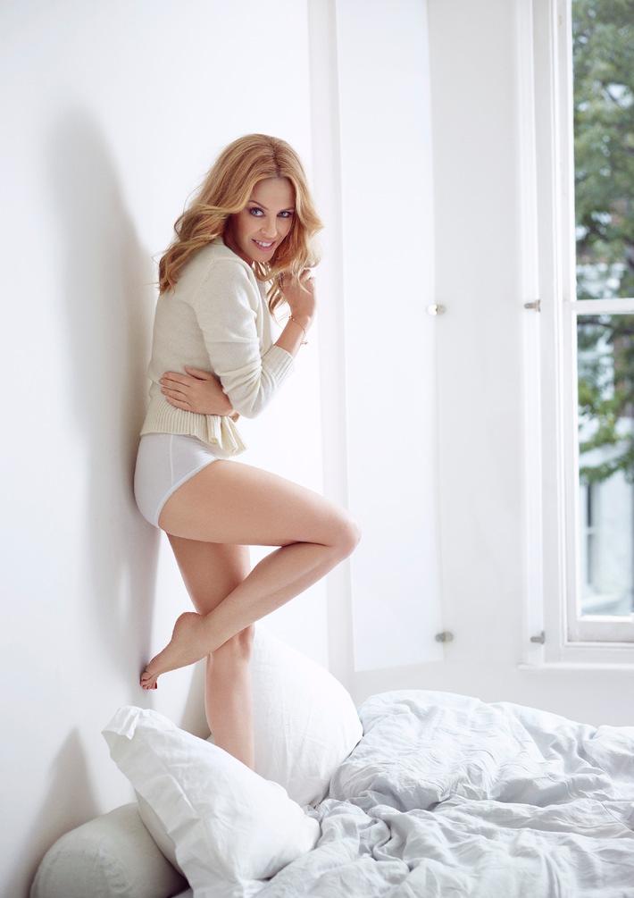 Kylie Minogue ist das neue Gesicht für sloggi