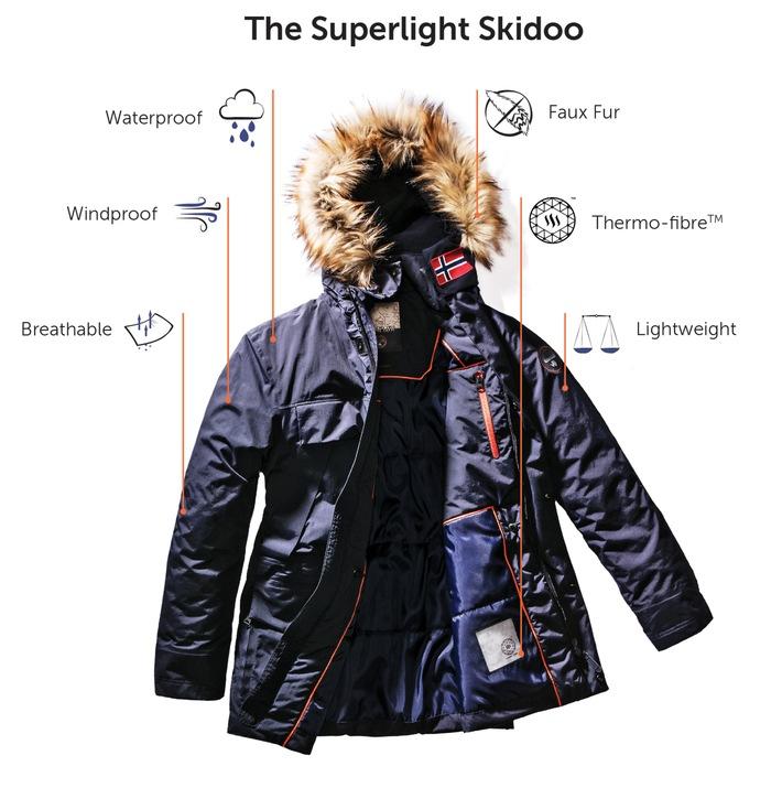 FW17 von Napapijri vereint Innovation und Tierschutz / Die neue Kollektion mit der innovativen Superlight Skidoo enthält ausschließlich daunen- und pelzfreie Artikel