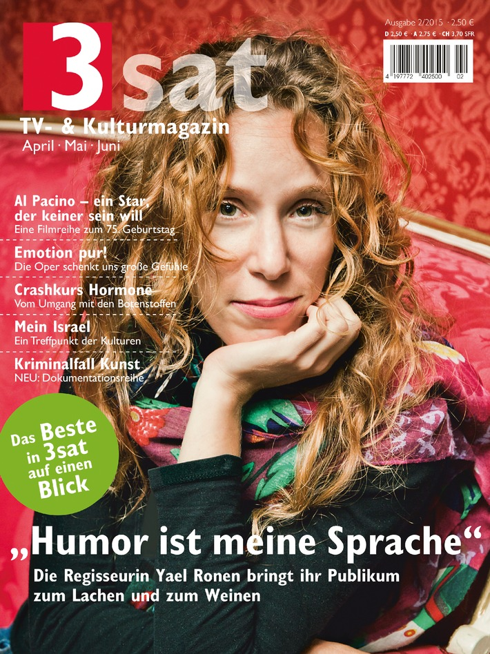 &quot;Humor ist meine Sprache&quot; / Regisseurin <b>Yael Ronen</b> bringt ihr Publikum zum <b>...</b> - 3sat--humor-ist-meine-sprache-regisseurin-yael-ronen-bringt-ihr-publikum-zum-lachen-und-zum-weinen-i