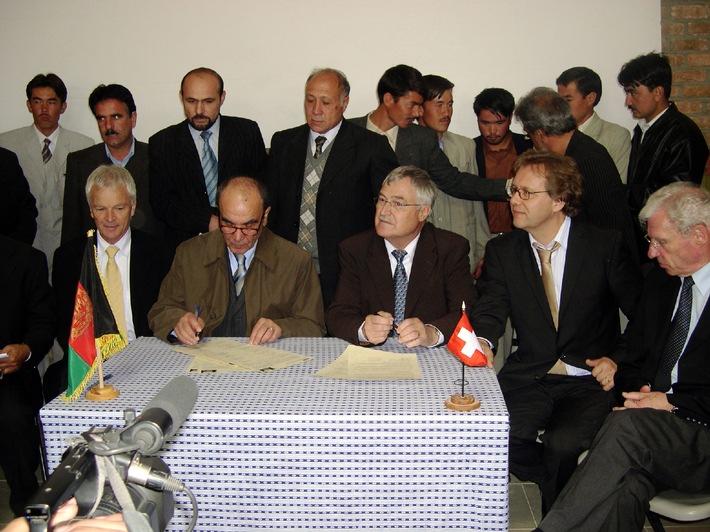 Afghanistan und die Schweiz: auf dem Weg zum Frieden