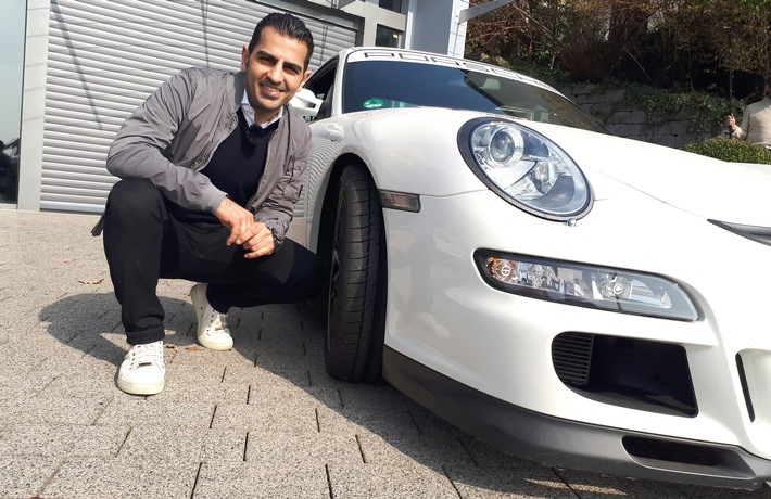 """GRIP - Das Motormagazin: """"Hamid sucht Supersportler"""""""