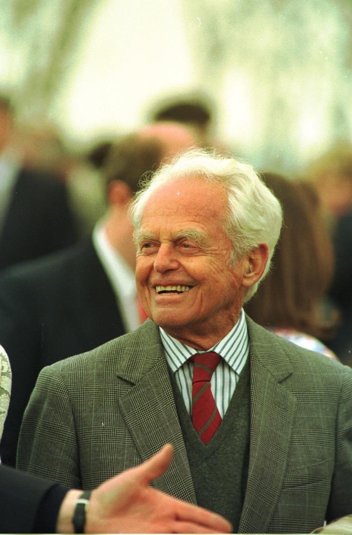 Walter Haefner (13 septembre 1910 - 19 juin 2012): Un grand coeur d'entrepreneur s'est arrêté de battre