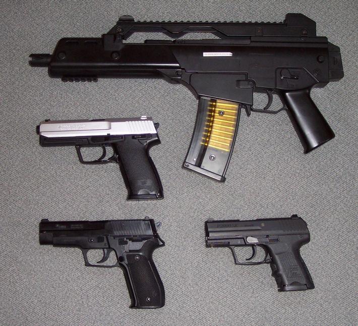 POL-HI: - Elze / Eime - Hohe Gefahren durch Softair-Waffen