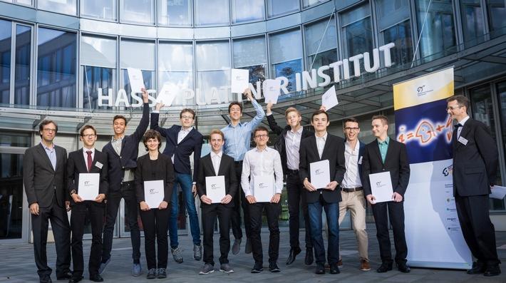Deutschlands talentiertester Informatik-Nachwuchs am HPI ausgezeichnet
