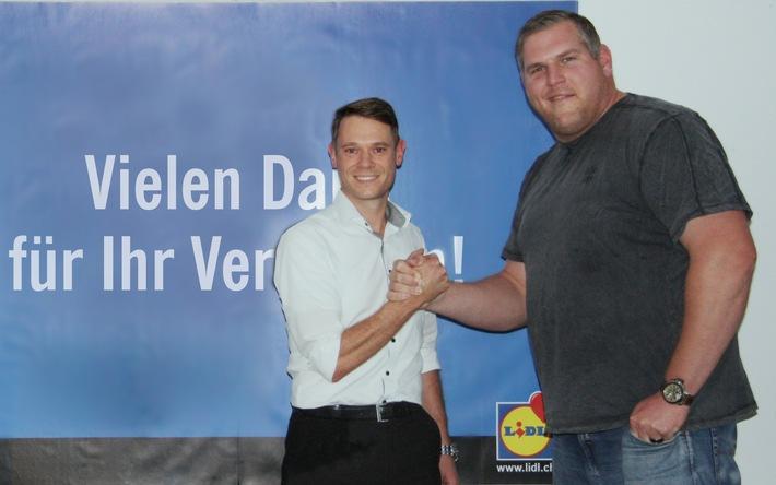 """Vertragsverlängerung: Christian """"Chrigu"""" Stucki ist für Lidl Schweiz der Schwinger des Jahrzehnts"""